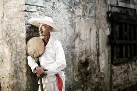 jimador en Tequila Mexico