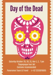 Day of the Dead in Tequila Guadalajara Mexico